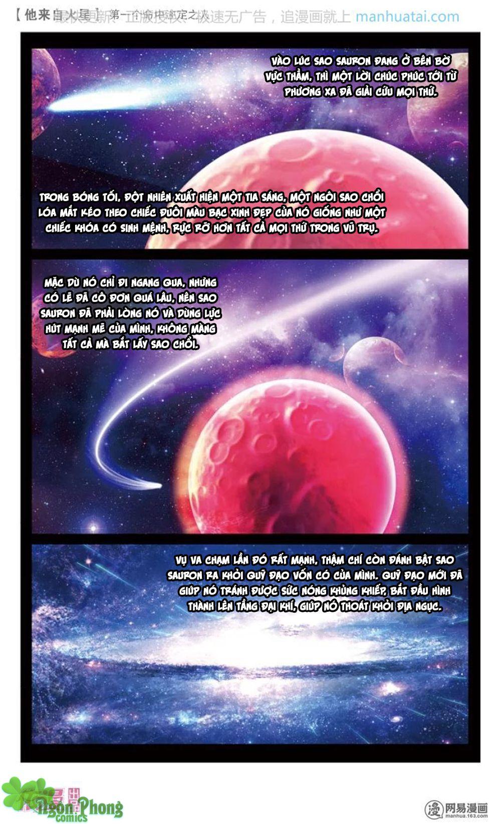 Hắn Đến Từ Sao Hỏa - Chap 14