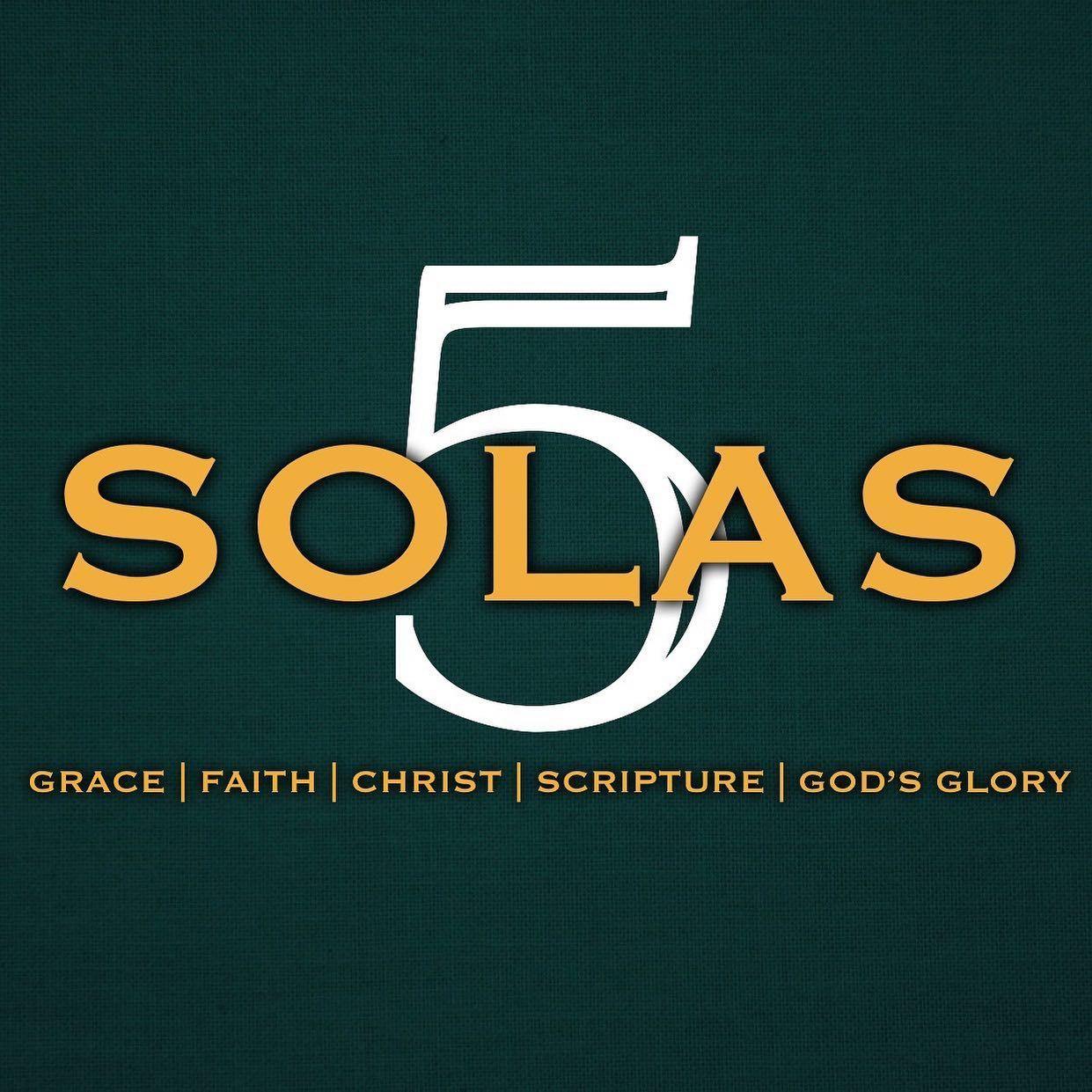 Sola Gratia - Grace Alone