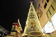 [尖沙咀] 海港城 聖誕節 燈飾 鬧市中的迪士尼聖誕大街 「Happily Ever Af...