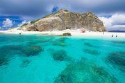 沖繩 Hanari島 無人島 魚兒種類豐富 數量繁多 適合浮潛的最佳地方