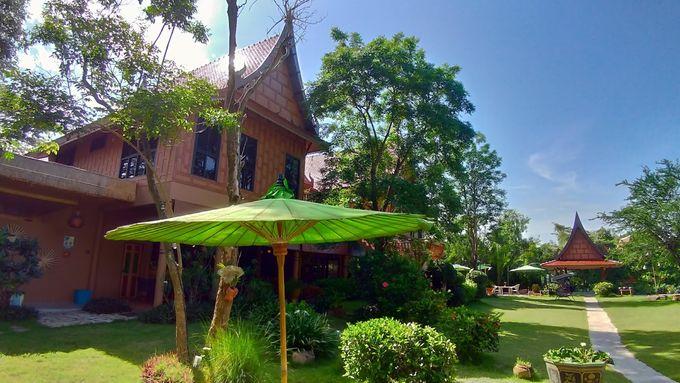 【曼谷周邊】 安帕瓦  綠油油的獨立屋 Villa 度假村  Asita Eco Resort