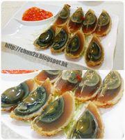 【飲食】元朗西菁街|偉記小廚|流心皮蛋 & 荷葉籠仔飯