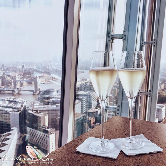 ■ 英國倫敦32樓的美好午餐 [THE SHARD-OBLIX]