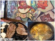 【初遊首爾】第一次體驗石頭烤肉.弘大Piggy Bank小豬存錢筒
