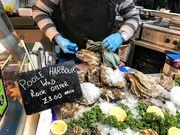 倫敦:Borough Market的巨型生蠔
