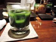 高知縣獨有 鮮綠色 津野山啤酒 特色抹茶啤酒 味道清爽不易碎