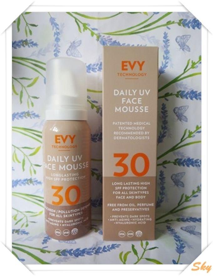 清爽透薄, 無油成份, 長效防曬 - EVY Daily UV Face Mousse