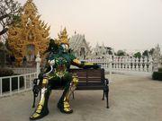 【清萊】 詭異天堂 美得誇張的清萊白廟