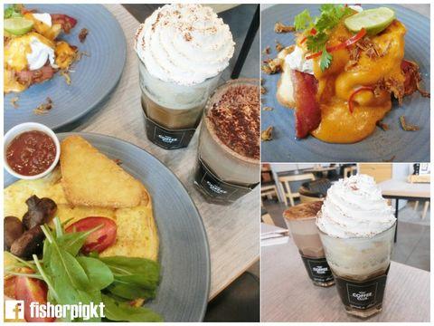 The Coffee Club 泰國曼谷咖啡廳推薦.來自澳洲的咖啡店