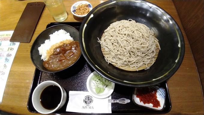 【曼谷】巨型蕎麥麵 Azuma 生そば あずま