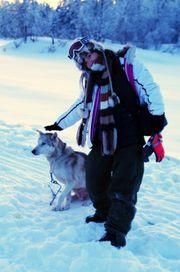 玩雪橇車睇極光 x 北極圈