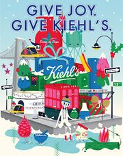 【美容】Kiehl's X 插畫家Andrew Bannecker 節日限量版系列