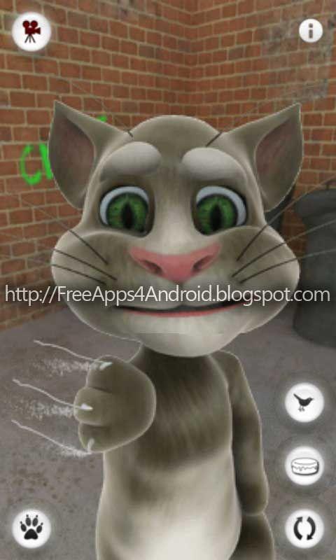 הורדה|Talking Tom Cat סנסציית האיפון עכשיו באנדרויד