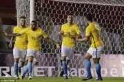 南美世盃外精華 - 巴拉圭 2-2 巴西 | 奧利華拉尾段入波 丹尼艾維斯補時追...