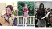 原來韓劇都不是騙人的,17位當紅女明星現實中又可愛又時尚的校服Look!
