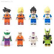 【Bandai食玩figmes Dragonball】Lego版龍珠公仔!