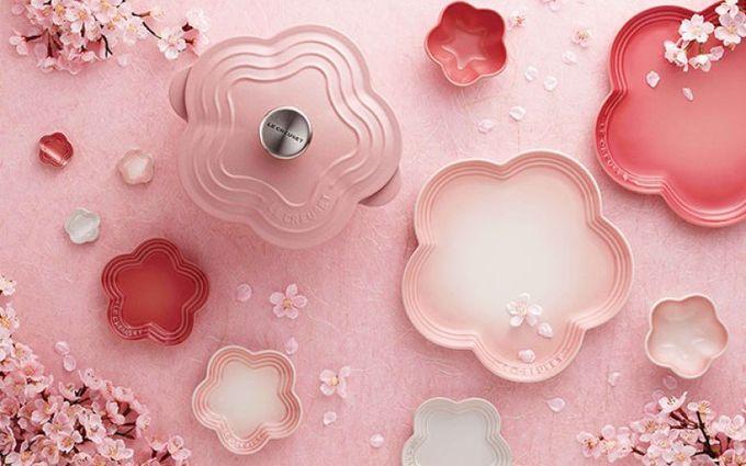 攻破少女心系列:Le Creuset櫻花系列,絕對是夢幻美!