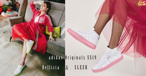 專為女生設計!adidas Originals 2019春夏新裝 Bellista 服裝及 SLEEK 鞋款系列