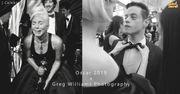 「他的鏡頭下,粒粒都是天皇巨星」 跟英國攝影師走入奧斯卡後台的黑白世...