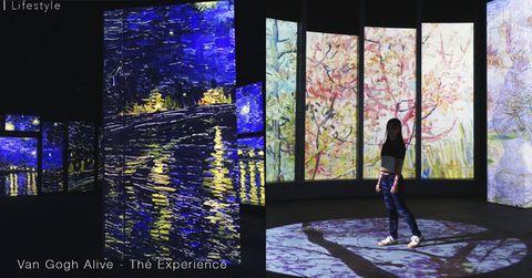 【率先睇】梵高多感官體驗展登陛香港!3000幅名畫投影猶如置身在梵高的畫中世界