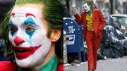 全新《小丑》獨立電影片場照,Joaquin誇張Joker妝容街頭賣命狂奔!