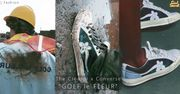 The Creator x Converse最新GOLF le FLEUR系列 ,繼續帶領濃厚色彩的...