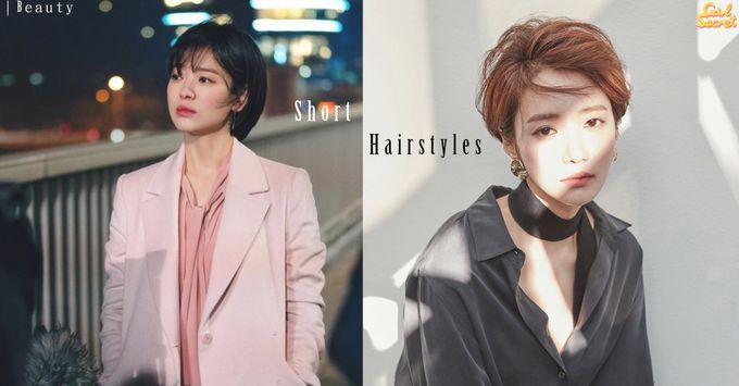現代女性剛強又不失女人味 2019年5大短髮造型參考 : 空氣瀏海/Boylish小男孩短髮