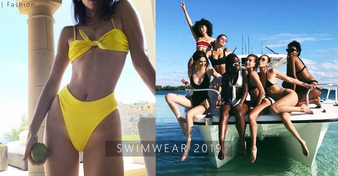 夏日就要去享受陽光與海灘!2019年泳衣趨勢5大必備元素