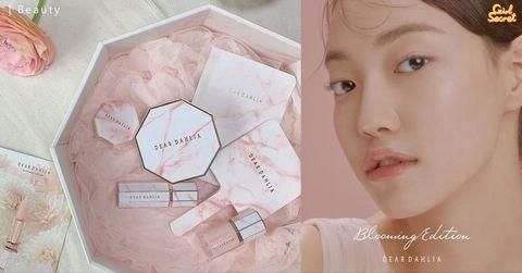 雲石控的彩妝首選 韓國品牌Dear Dahlia推全新櫻花系列