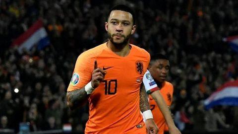 歐國盃外圍賽精華 - 荷蘭 4-0 白俄羅斯︱迪比包辦四個入球 雲迪克頭槌接應炮彈式橫傳...