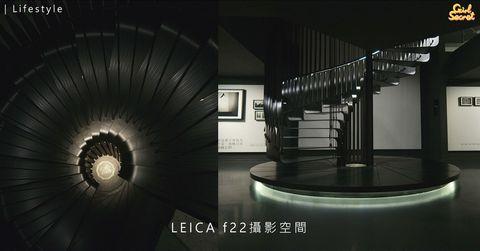 走入相機界名牌 LEICA 的世界 隱藏打卡點f22攝影空間