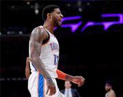 混亂!NBA最新排名:雷霆第3,魚腩7連敗墊底,湖人下滑至第8!