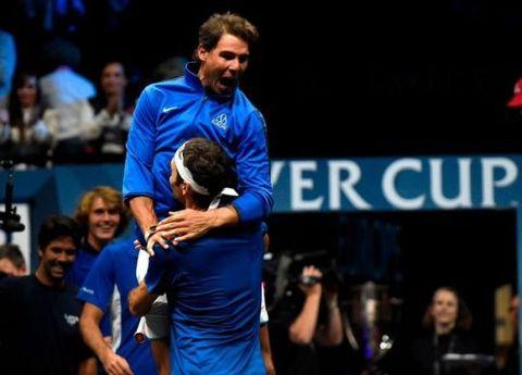 【精彩重溫】Federer、Nadal 惡鬥十多年,首次合作出戰雙打