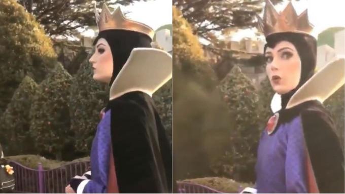 【有片】日本網民激讚白雪公主後母靚女,演員超高傲回應