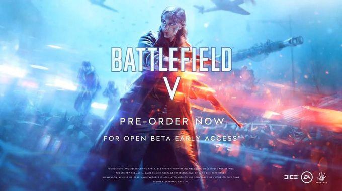 有錢都冇時間玩!Battlefield V 10/19推出,10月槍game大混戰!