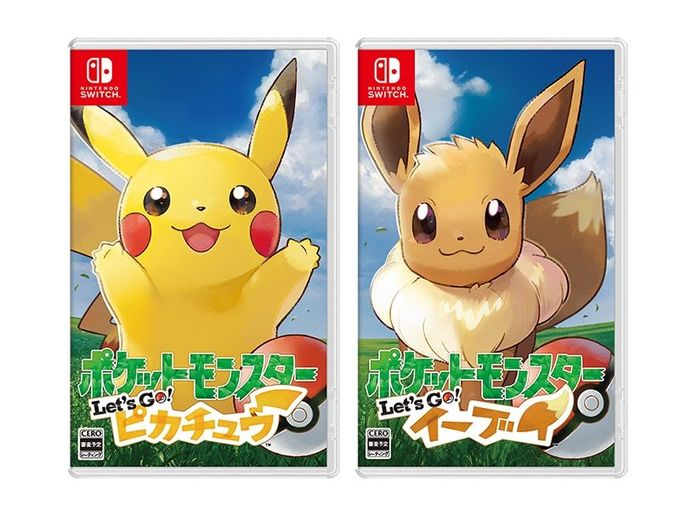 Pokemon Let's Go Pikachu/Eevee 正式公佈,11/16一齊重拾初心!