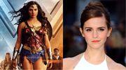 艾瑪華森Cosplay神奇女俠,網友大讚:她的臉蛋搭配造型真是太美
