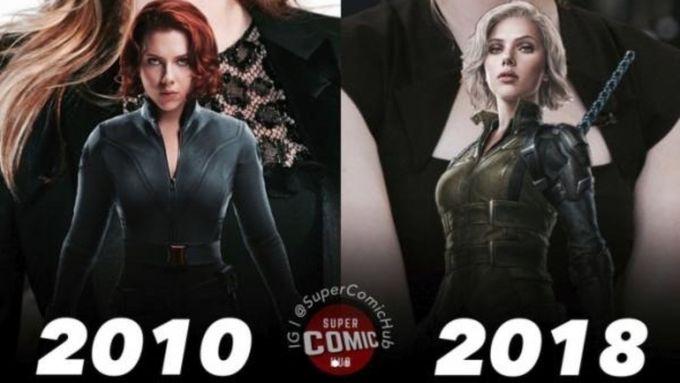 Marvel英雄初次登場和現在的分別,對比圖令人感到時光飛逝