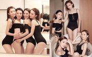 【少婦聯盟】性感高腰黑色泳衣照,左至右點簡好?