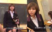 【多圖】《學是學非》張秀文制服誘惑化身日本女教師,黑絲性感小短裙...