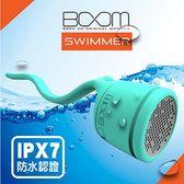 BOOM Swimmer Speaker 攜帶 造型 藍芽喇叭(綠色)