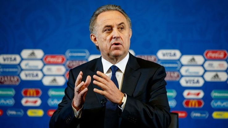Controversial Russian deputy PM Vitaly Mutko quits Football Union roleの代表サムネイル