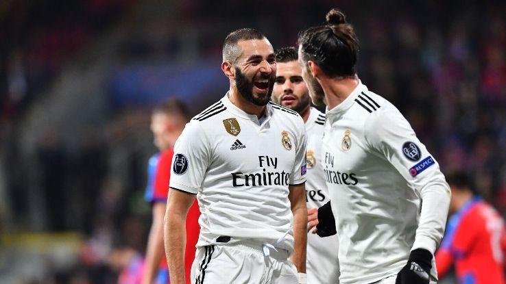Karim Benzema 8/10, Toni Kroos 7/10 in Real Madrid rout over Viktoria Plzenの代表サムネイル