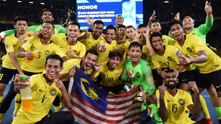 Zaquan Adha double powers Malaysia to Suzuki Cup semifinals alongside favourites Vietnamの代表サムネイル