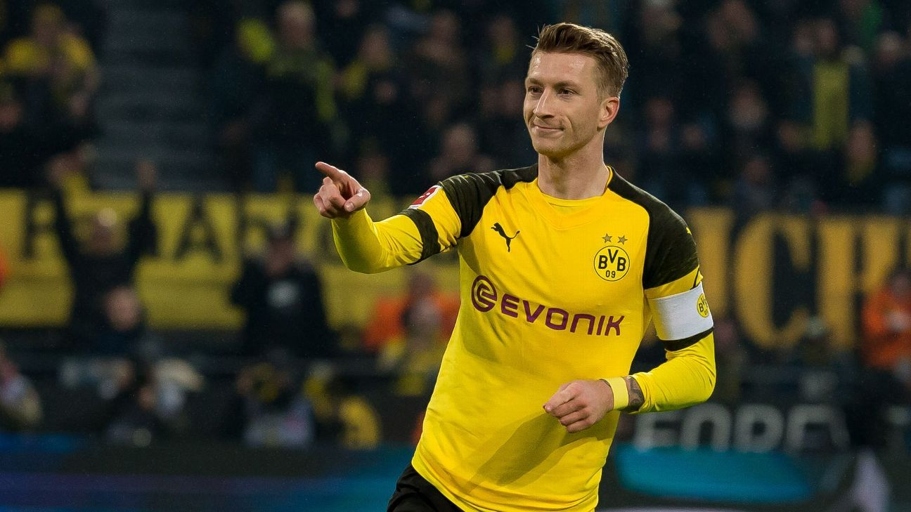 Dortmund's Marco Reus facing battle to play vs. Tottenhamの代表サムネイル