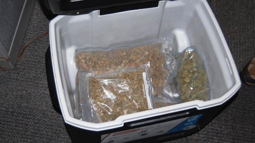 Marijuana-filled cooler worth $24G donated to Goodwill