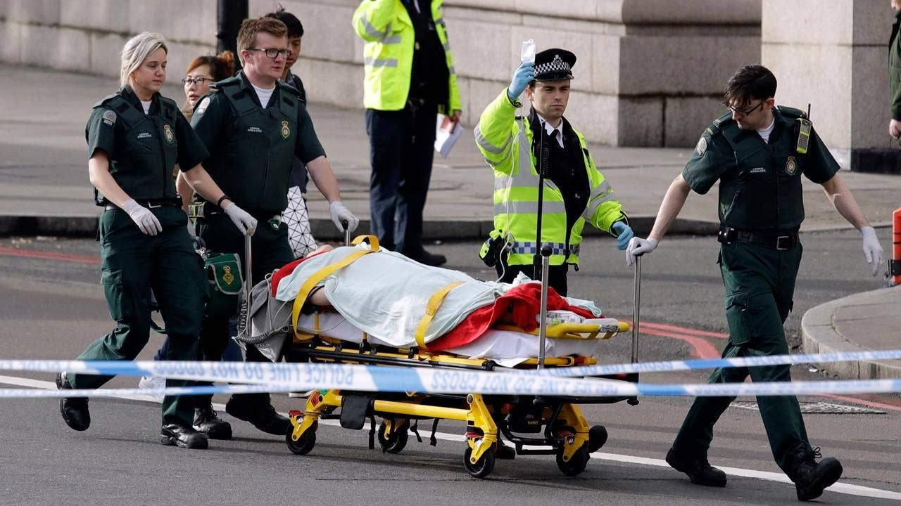 UK Parliament terror attack: Two people, including cop, killed; more than a dozen injured