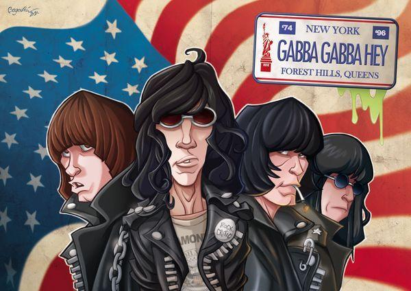 Ramones - Videos (Compilation) (1978-2007) [DVDRip]