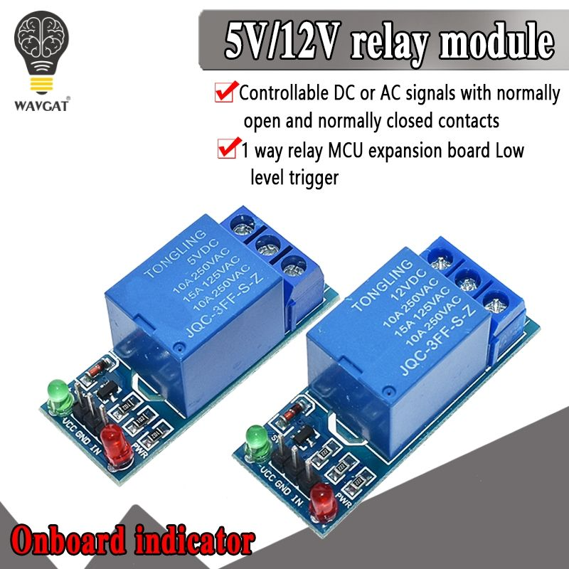 1PCS 5V 12V low level trigger One 1 Channel Relay Module interface Board Shield For PIC AVR DSP ARM MCU for Arduino