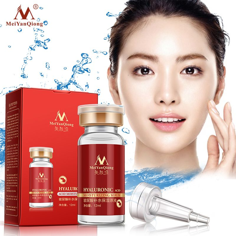 Hyaluronic Acid Essence Facial Skin Moisturizing Whitening Essence Anti-Aging Skin Care Product Fine Pores Firming skin Water